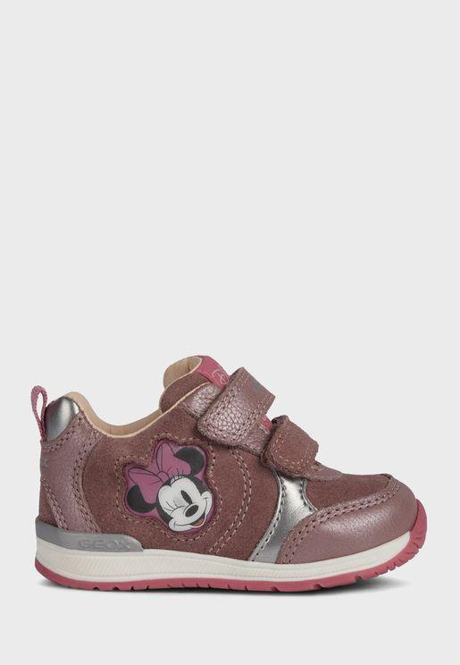 Kids Rishon Velcro Low Top Sneaker
