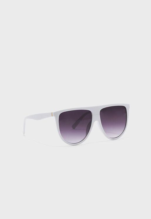 Flat Top Frame Sunglasses