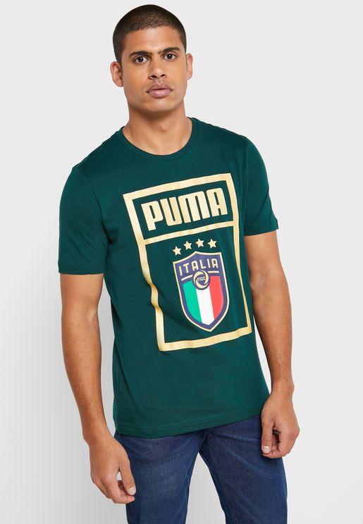 FIGC Italia DNA T-Shirt