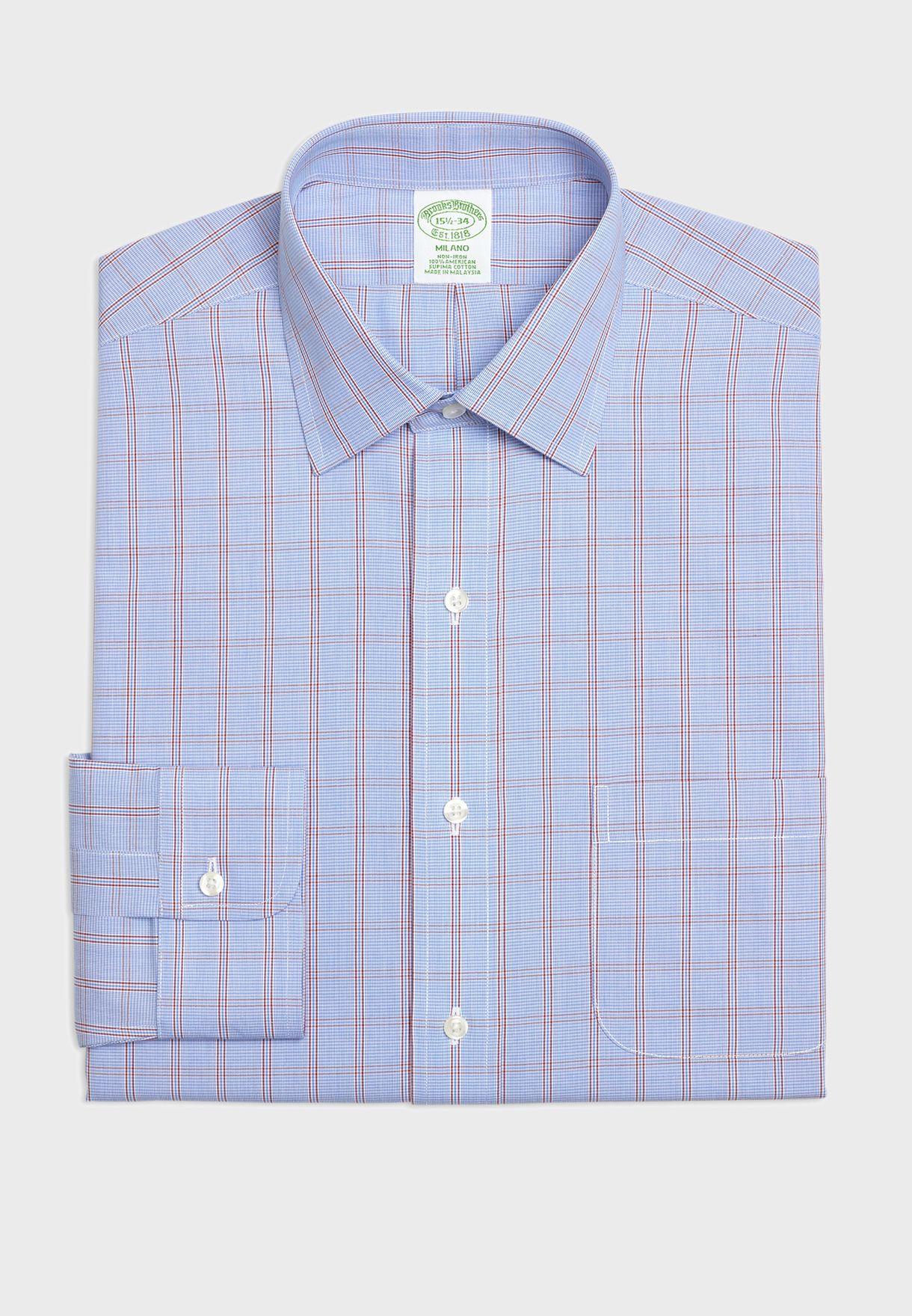 Checked Extra Slim Shirt