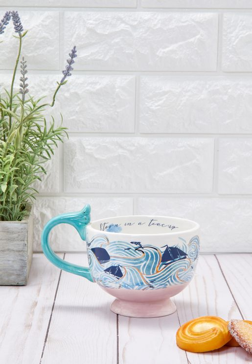 Storm Tea Cup With Gift Box