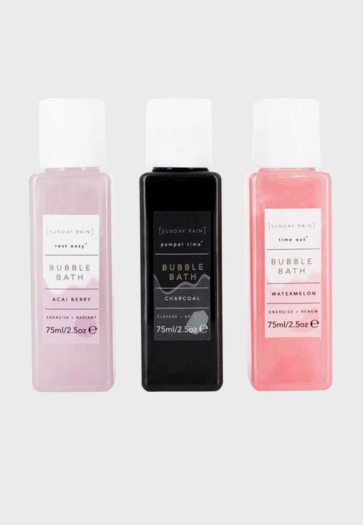 Bubble Bath Trio Gift Set