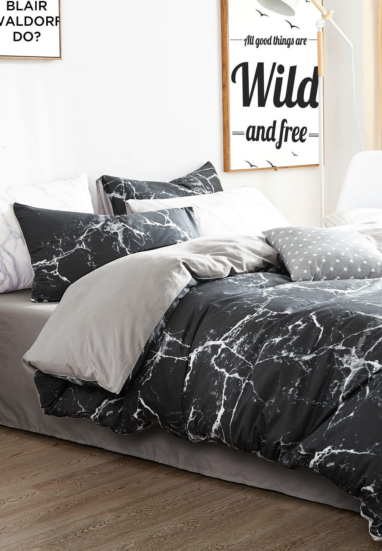 طقم شراشف سرير مطبع - كينغ 200 X 230سم