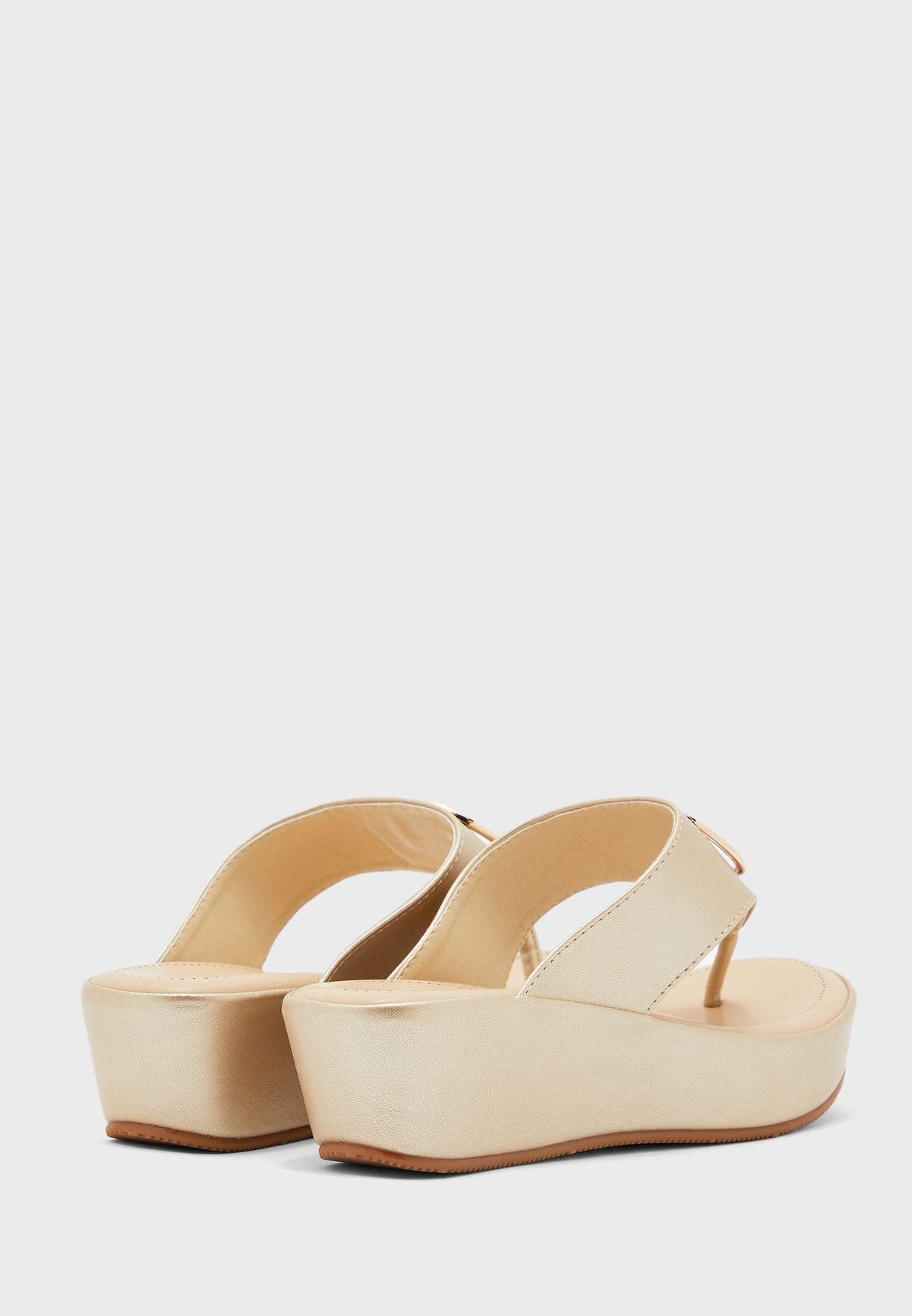 Casual Wedge Heel Sandal
