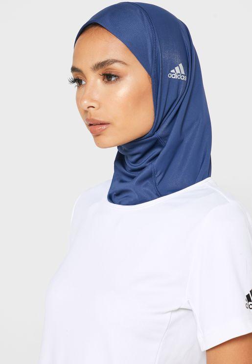 حجاب تدريب من مجموعة اديداس ريدي