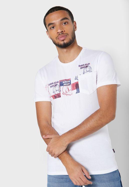 Donald Crew Neck T-Shirt