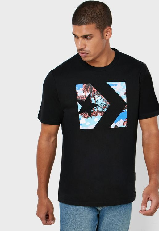 Star Chevron Camo Fill Box T-Shirt