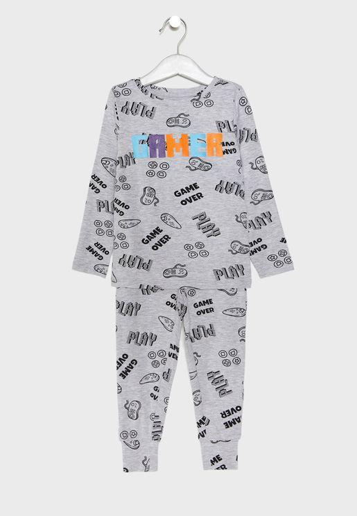 Kids Gamer Pyjama Set