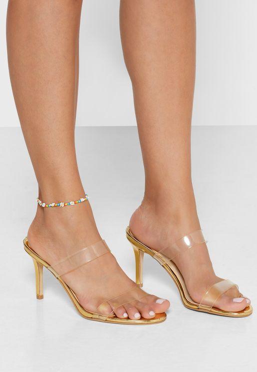 Beaded Daisy Anklet