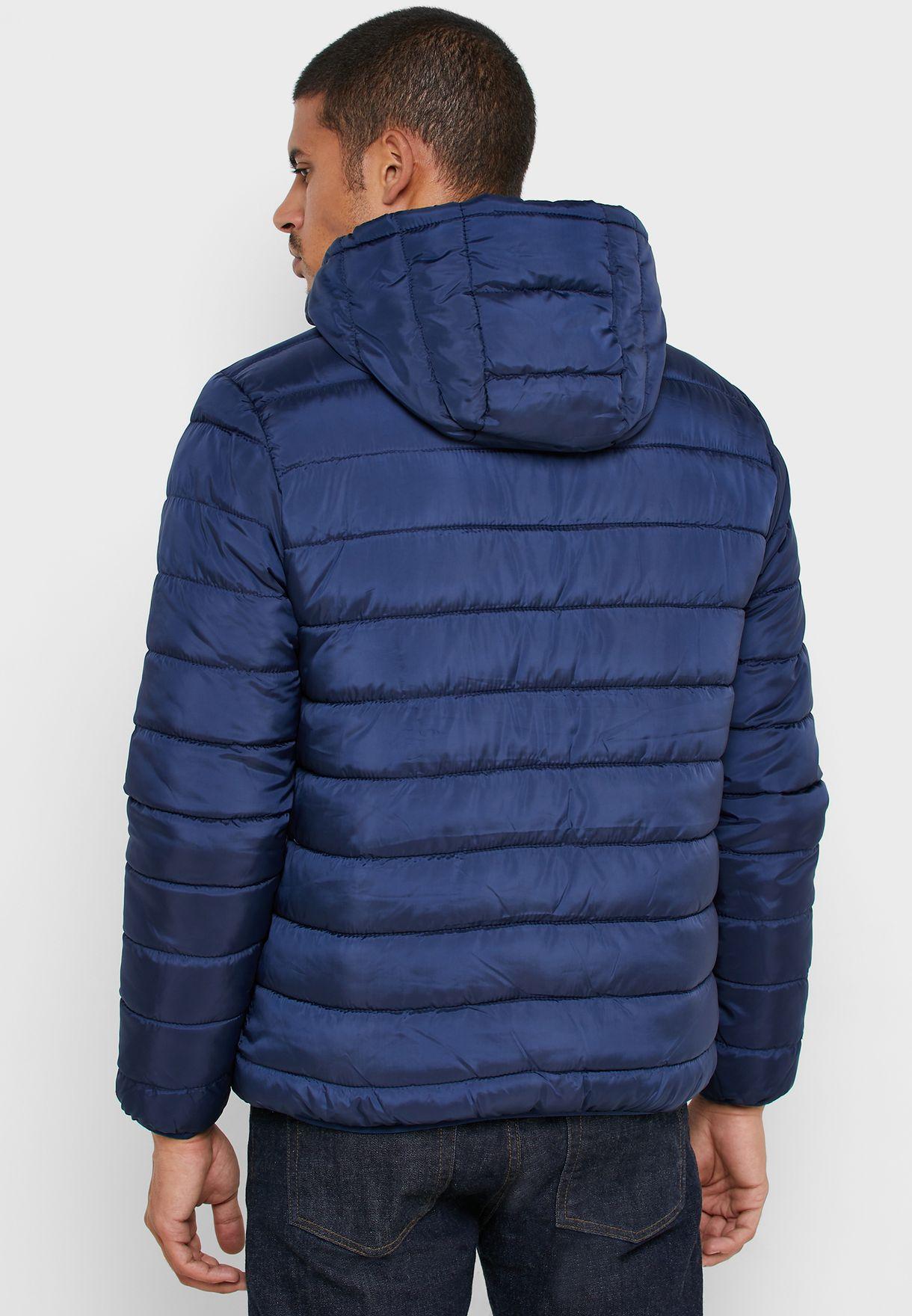 Shearling Puffer Jacket