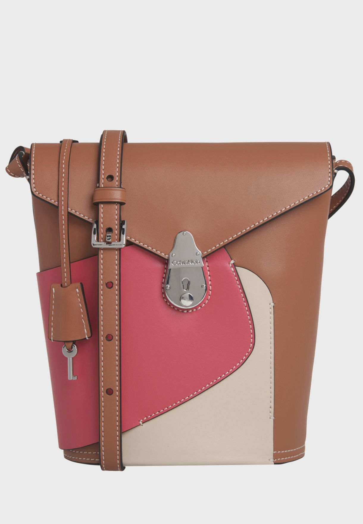 Lock Bucket Small Petal Hobo