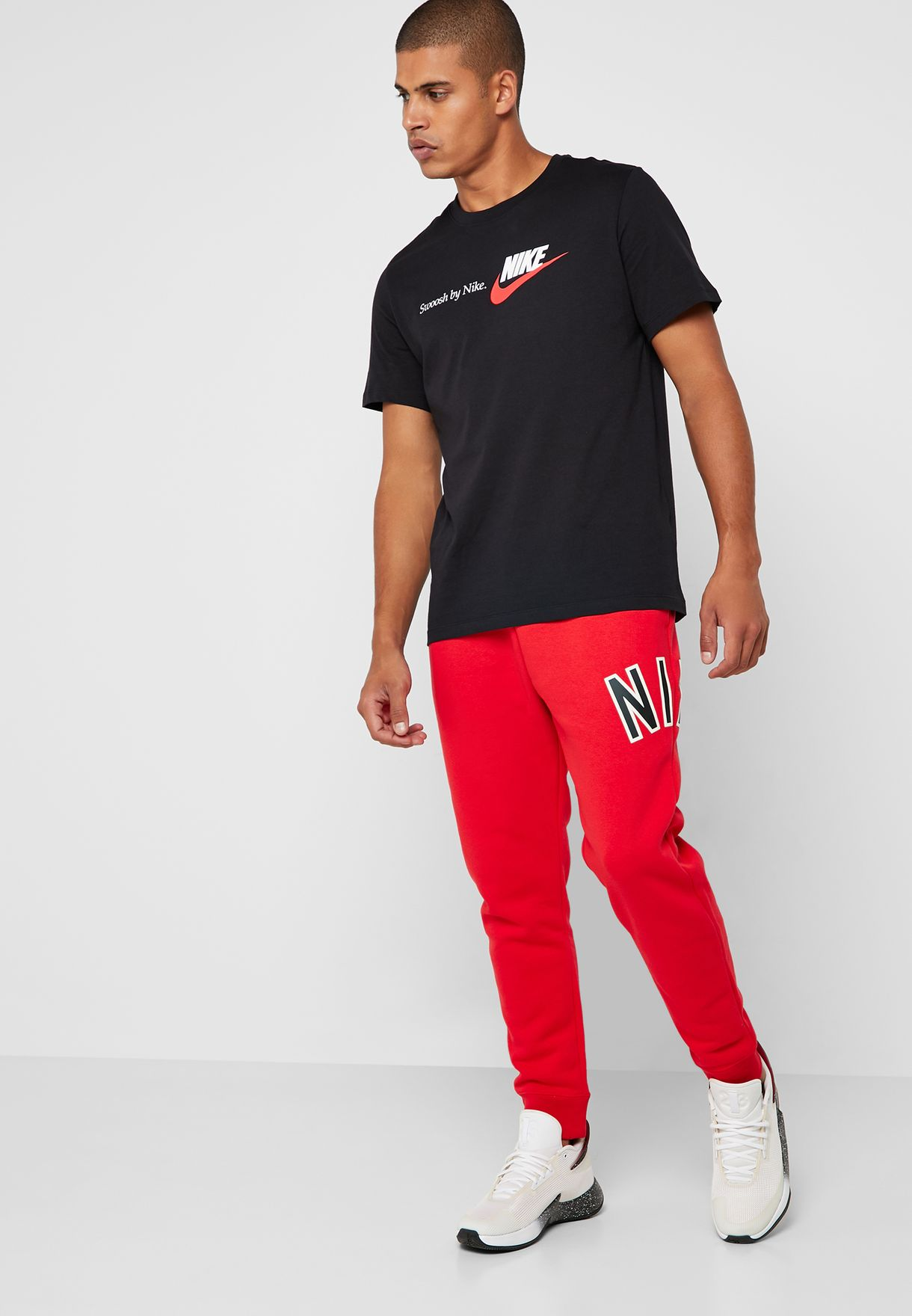 c8955eabebbbae Shop Nike red NSW Air Fleece Sweatpants AR1824-657 for Men in UAE -  72704AT03UQP