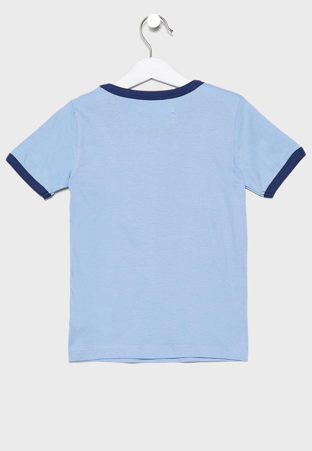 Teen Graphic Ringer T-Shirt