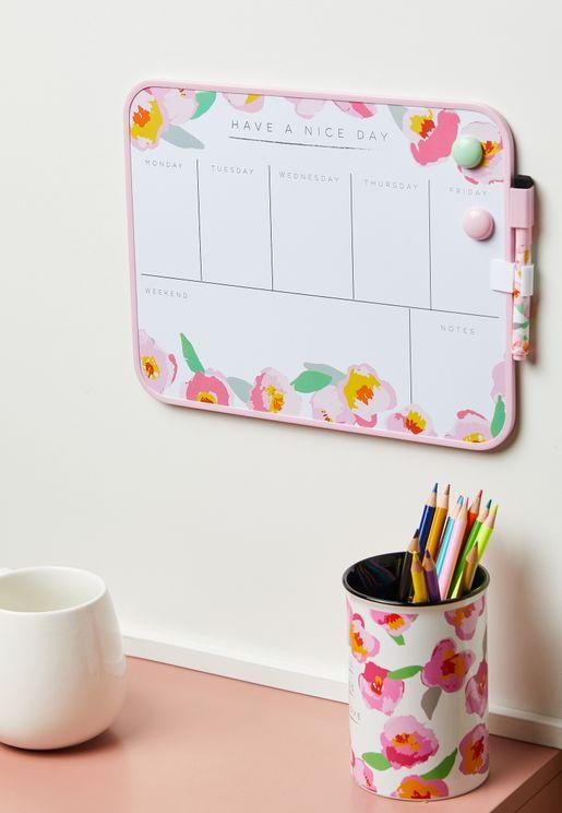 Magnetic Board, Marker & Eraser