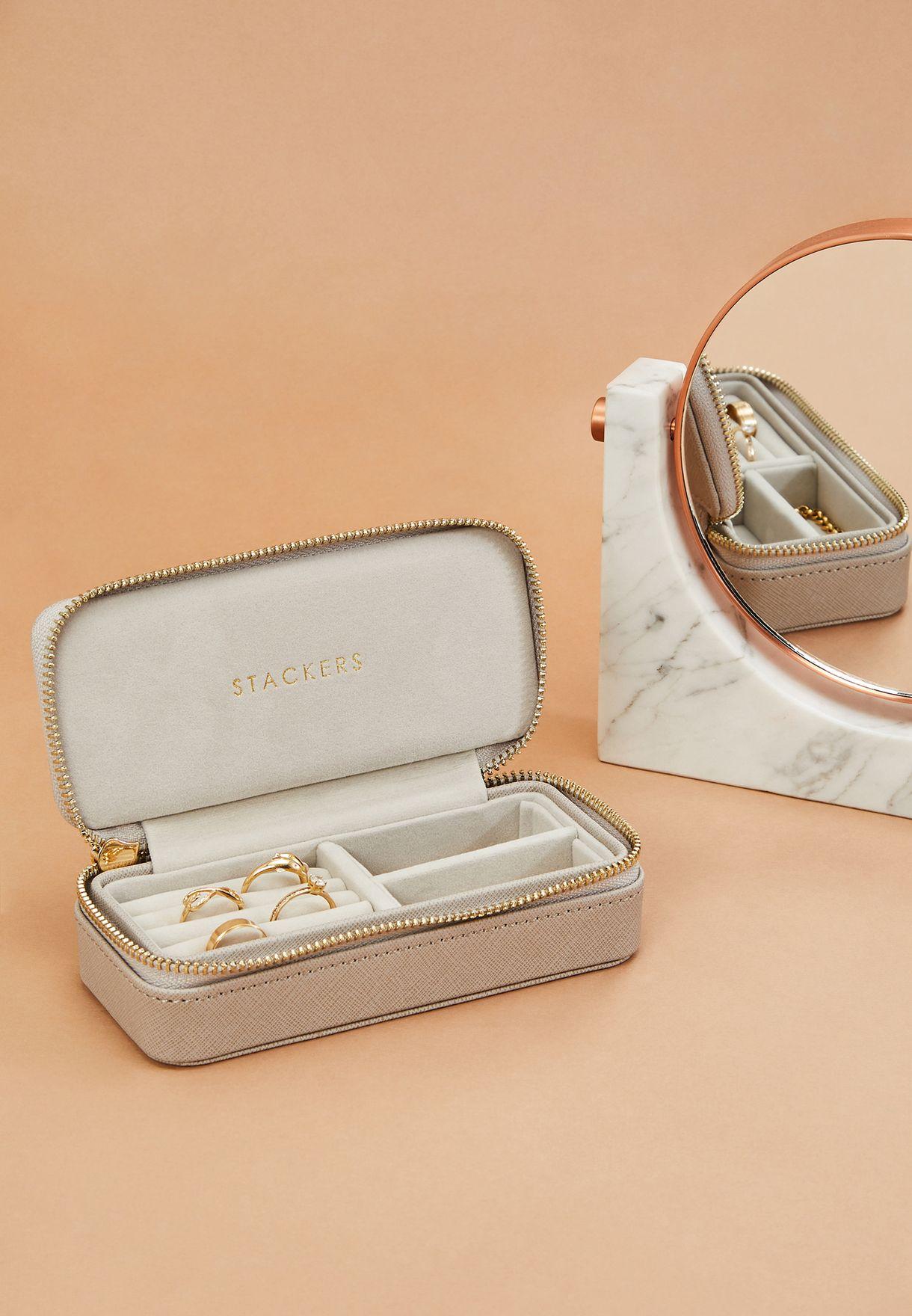 Medium Travel Jewellery Box