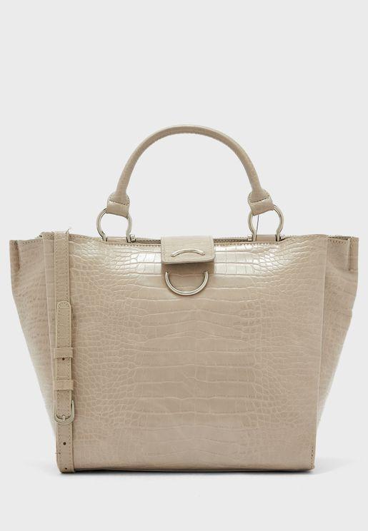 Bento Textured Top Handle Shopper