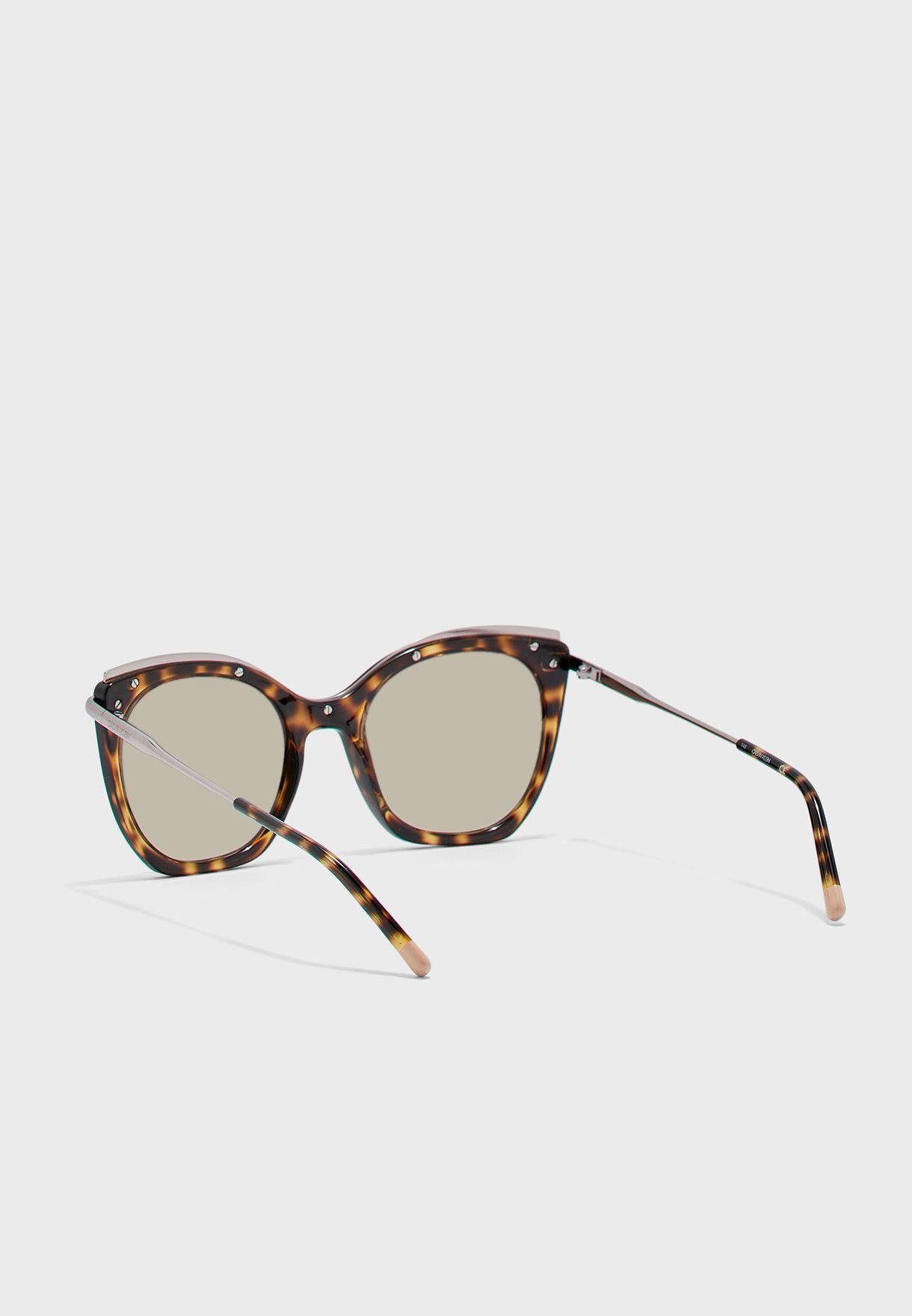 CK1238S Oversized Sunglasses