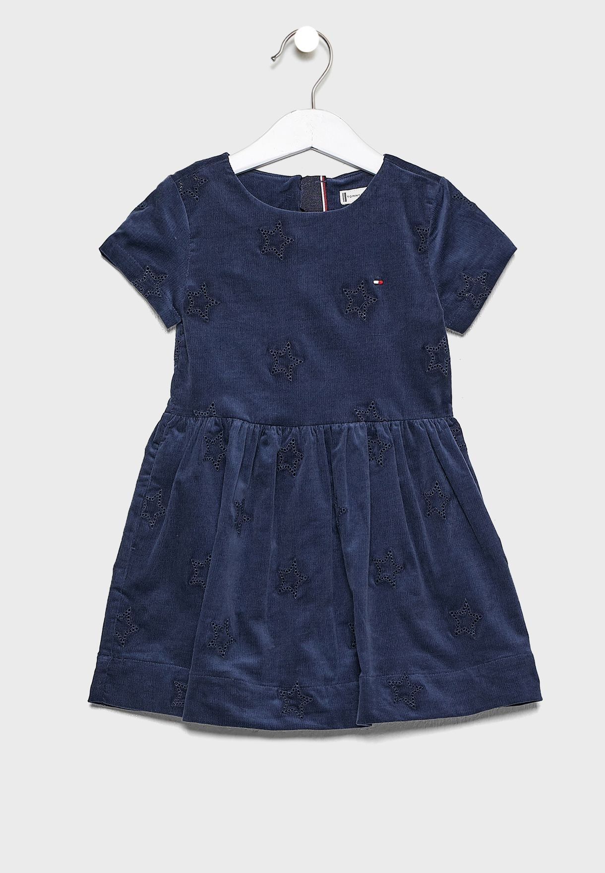 Kids Embroidered Star Dress