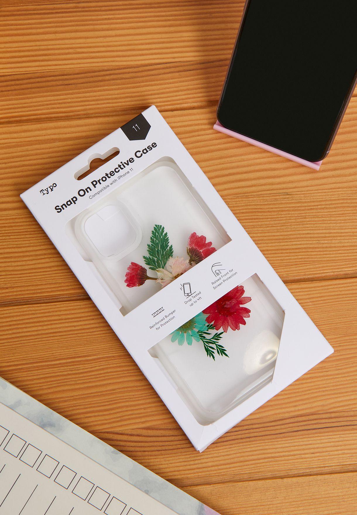 غطاء حماية واقي لهاتف آيفون 11 مطبع