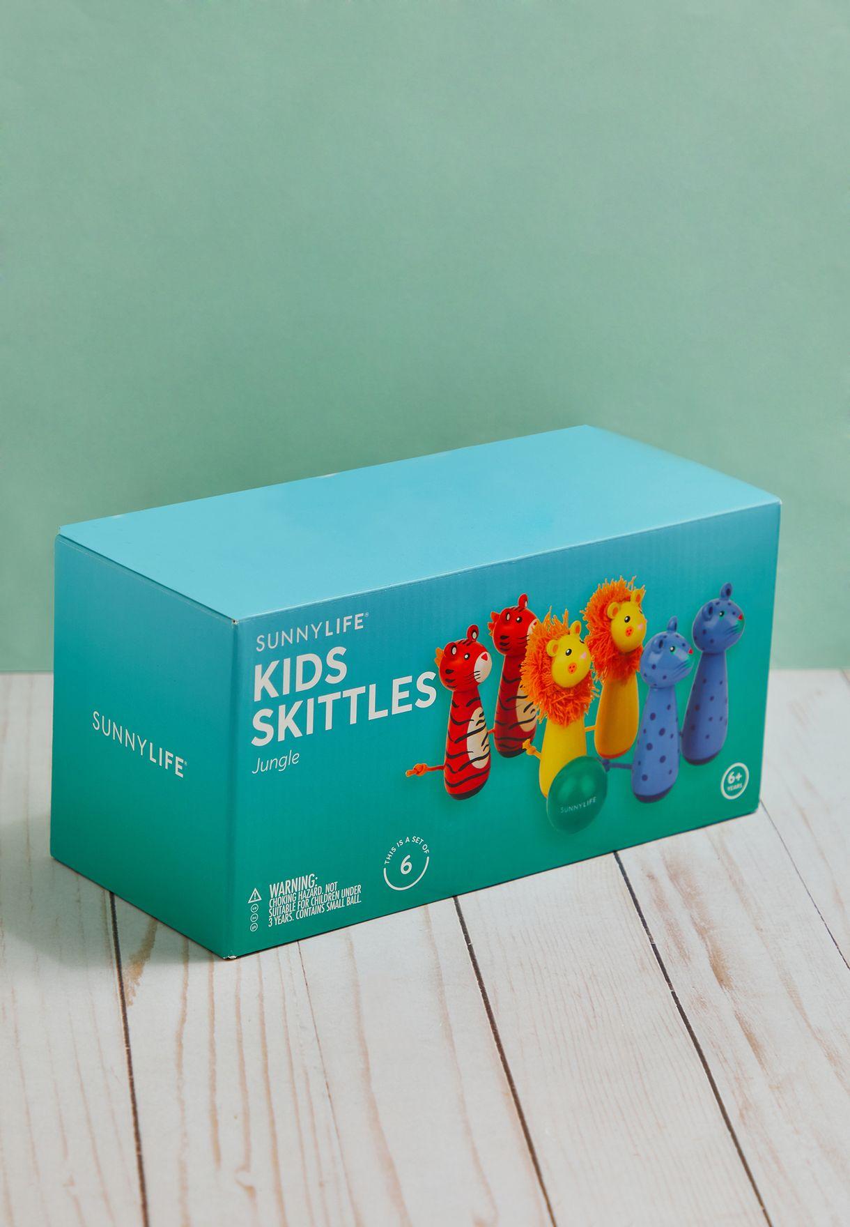6 Pack Jungle Kids Skittles
