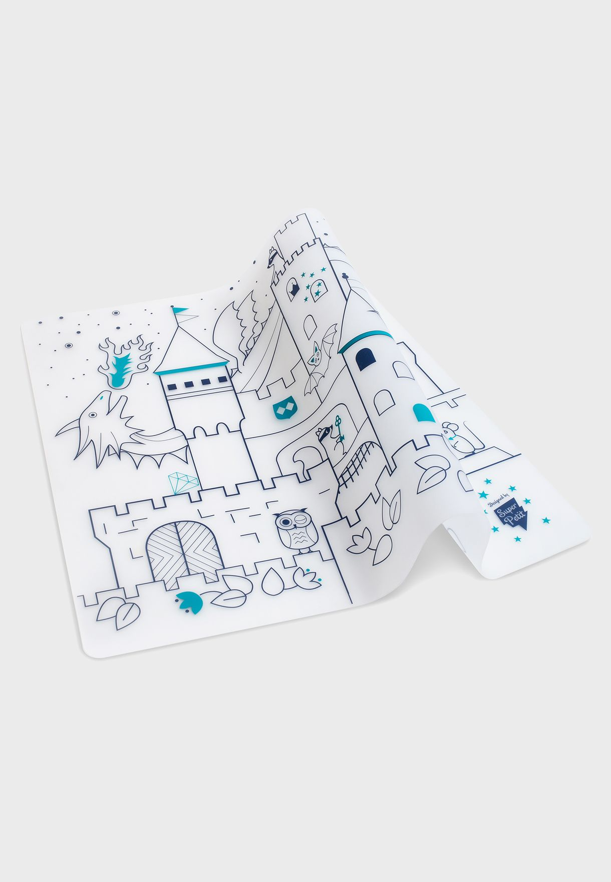 Castle Silicone Placemat