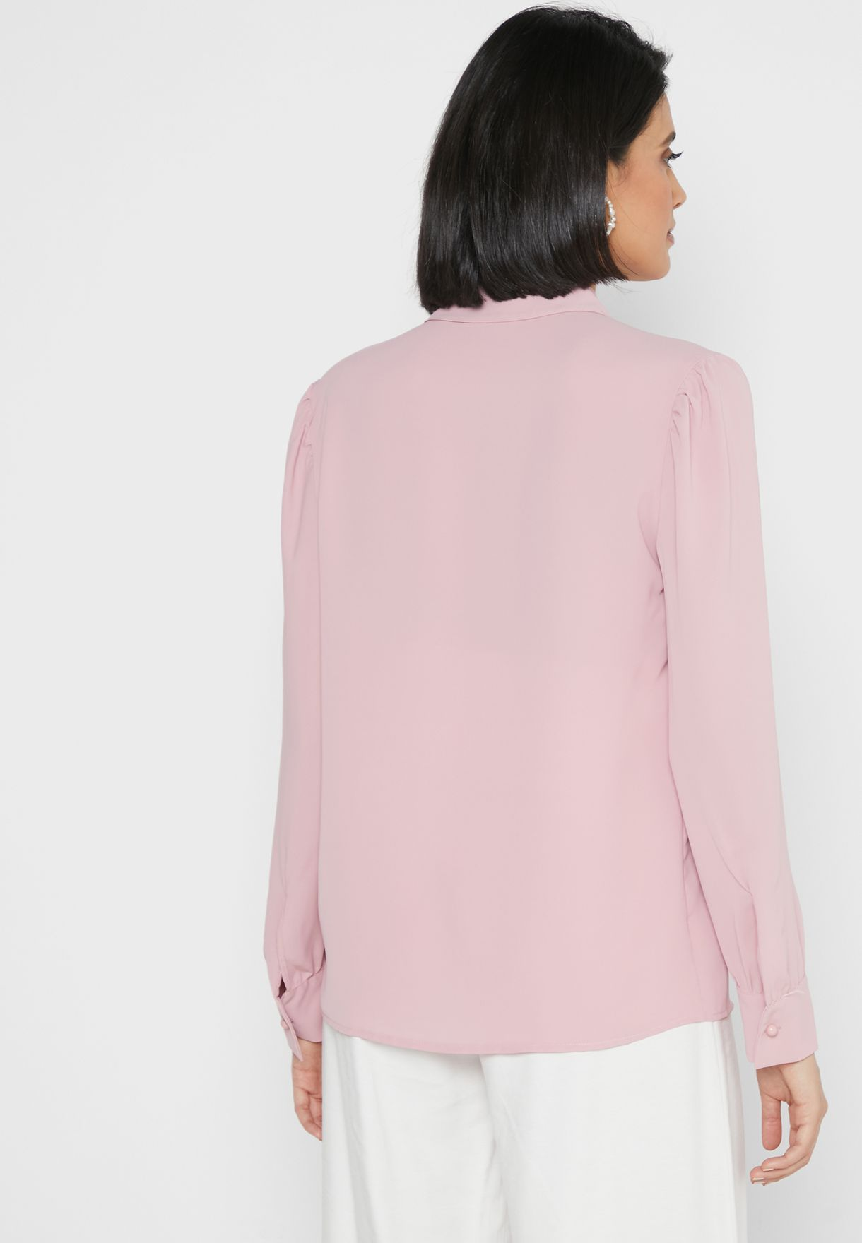 Gathered Shoulder Shirt