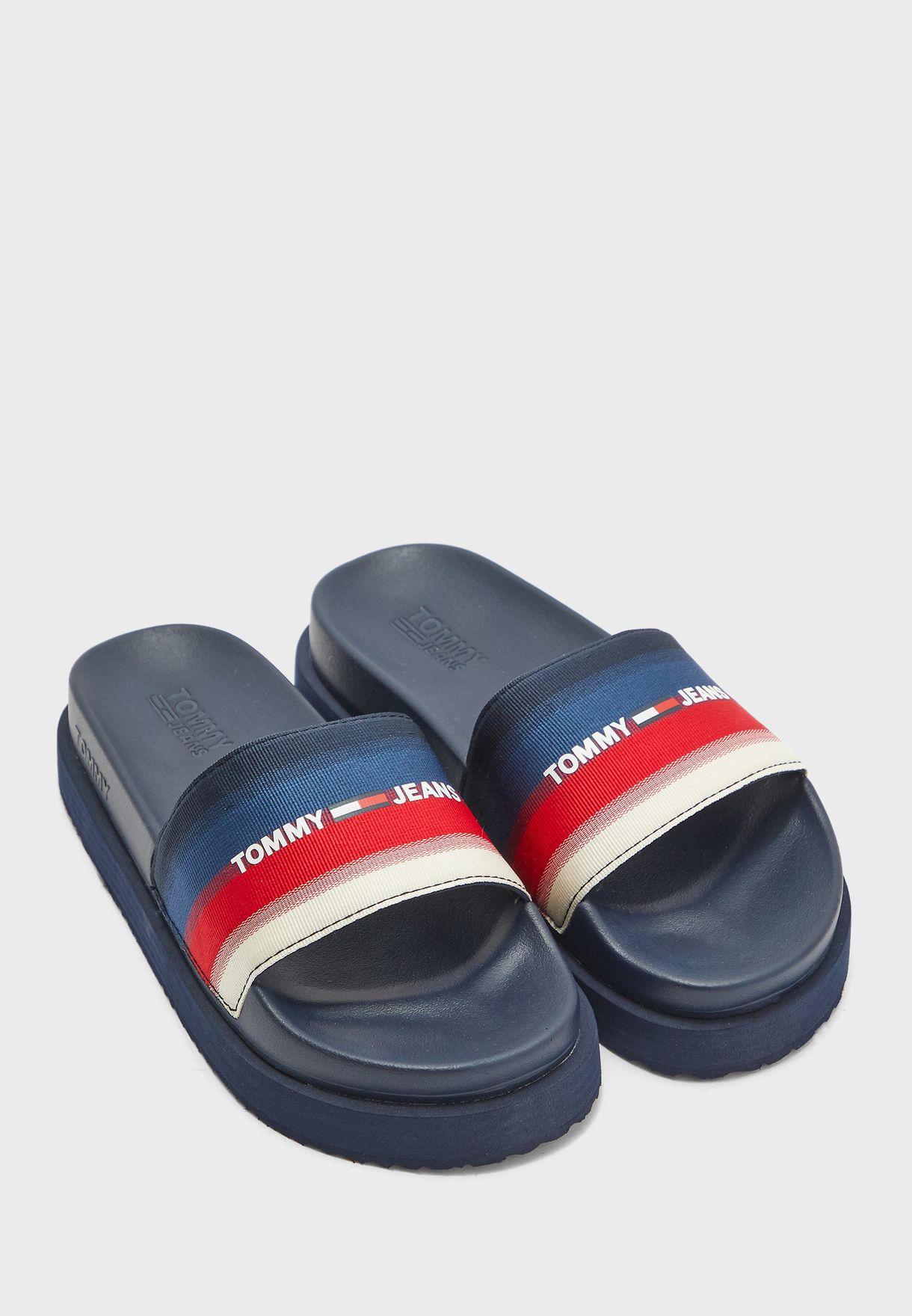 Flatform Pool Slide Sandals