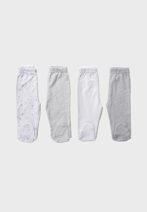 Infant 4 Pack Leggings