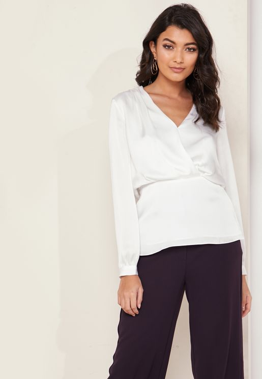 Miranda V-Neck Wrap Top