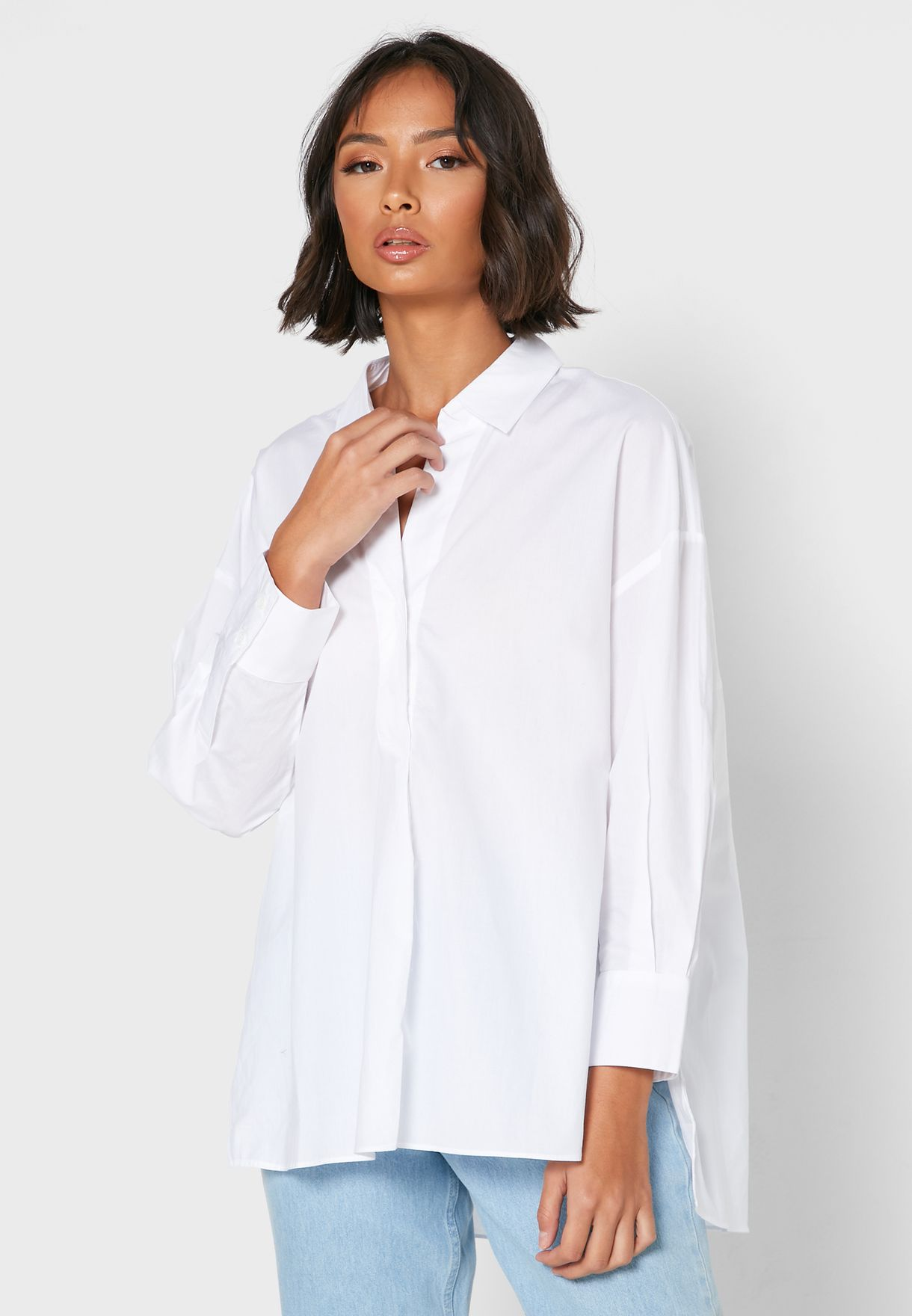 Aoko High Low Shirt