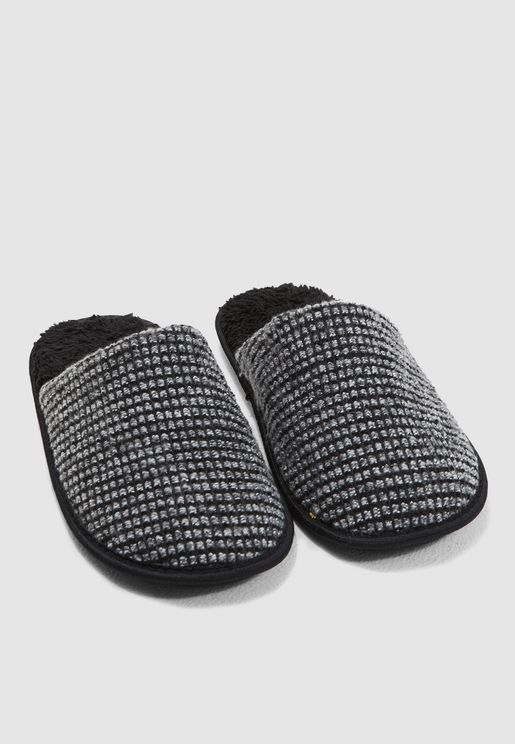 Chenile Bedroom Slippers