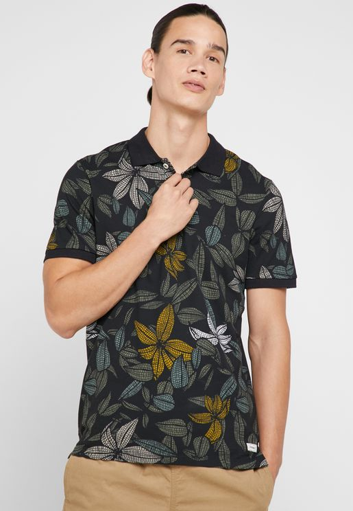 Blooming AOP Polo