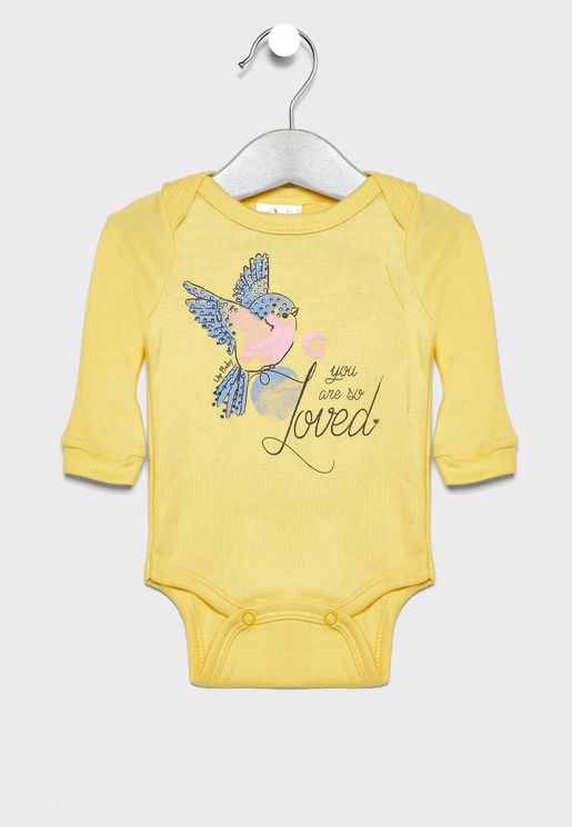 Kids Applique Bodysuit