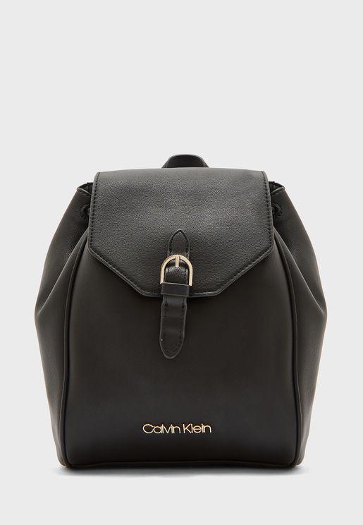 Drawstring Detail Backpack