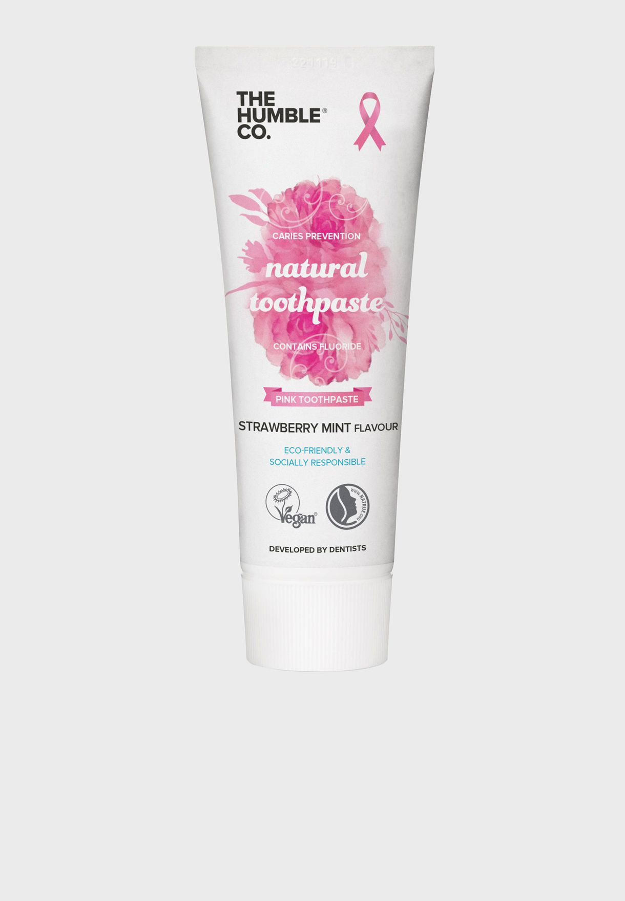 Natural Strawberry Mint Toothpaste