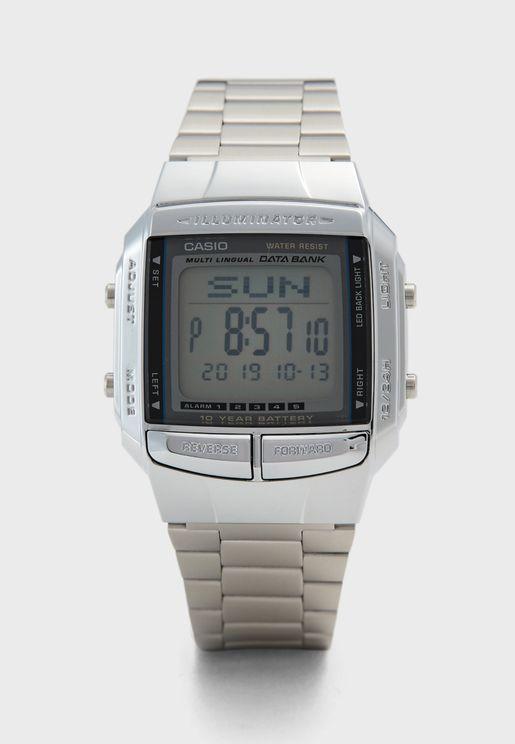 Data Bank Digital Watch