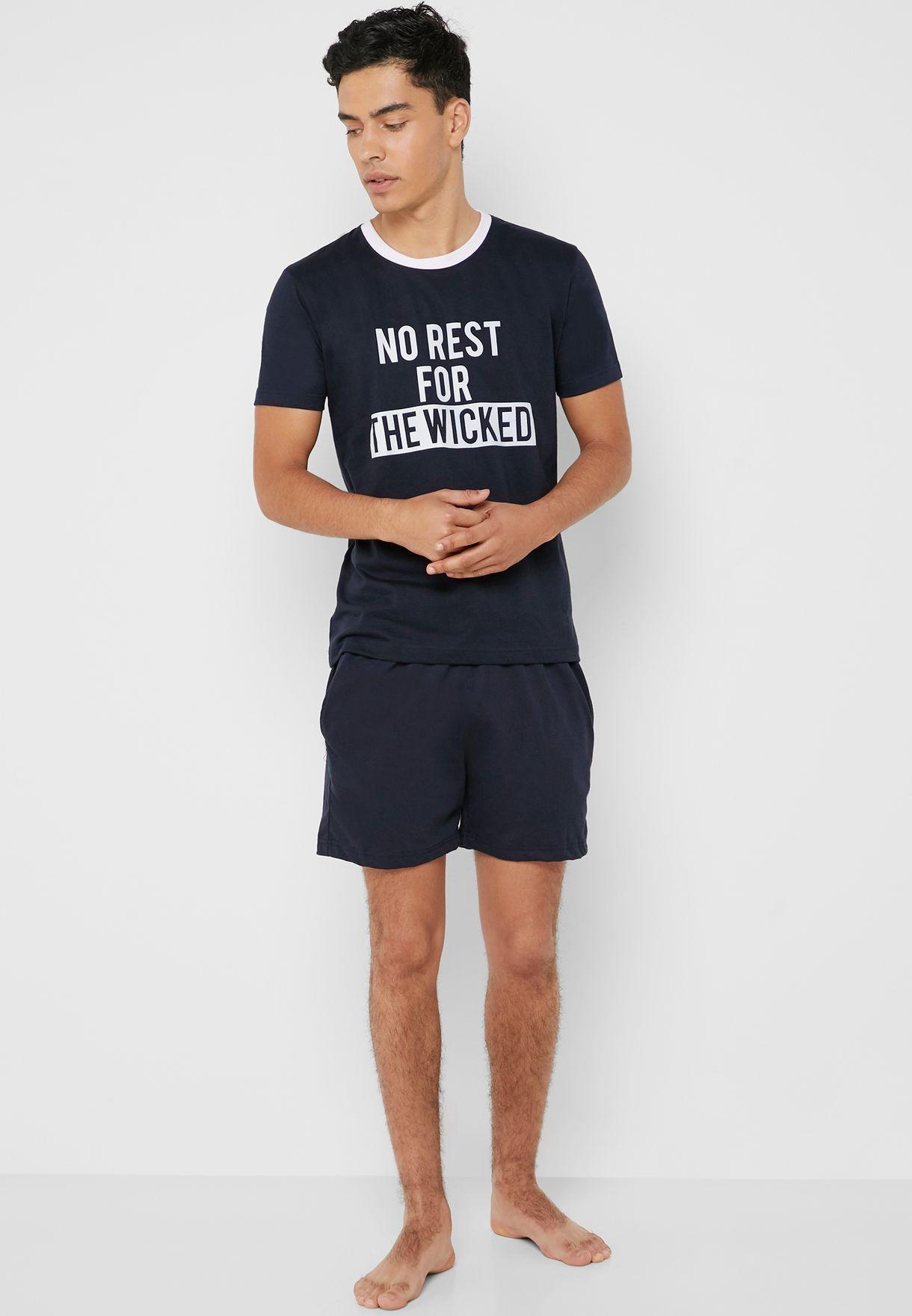 No Rest The Wicked Pyjama Set
