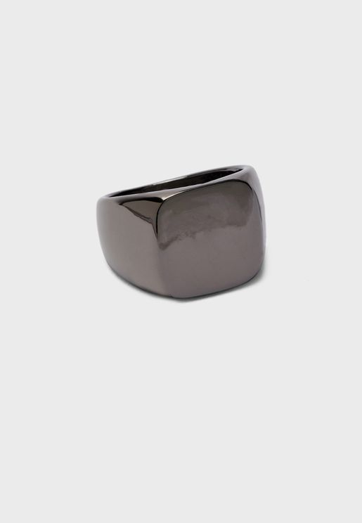 Square Top Signet Ring