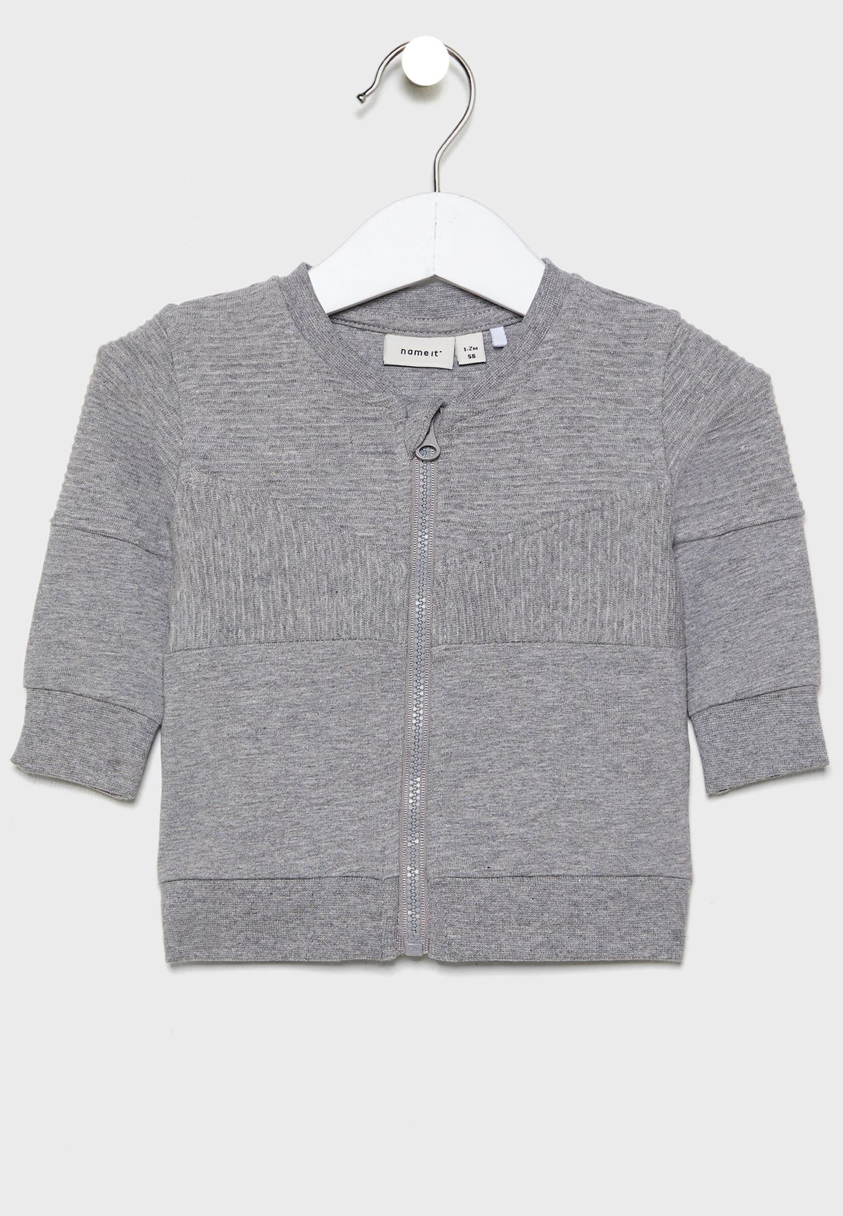 Infant Ribbed Bomber Jacket