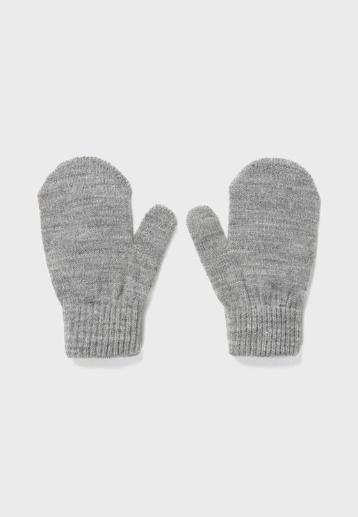Kids Knitted Gloves