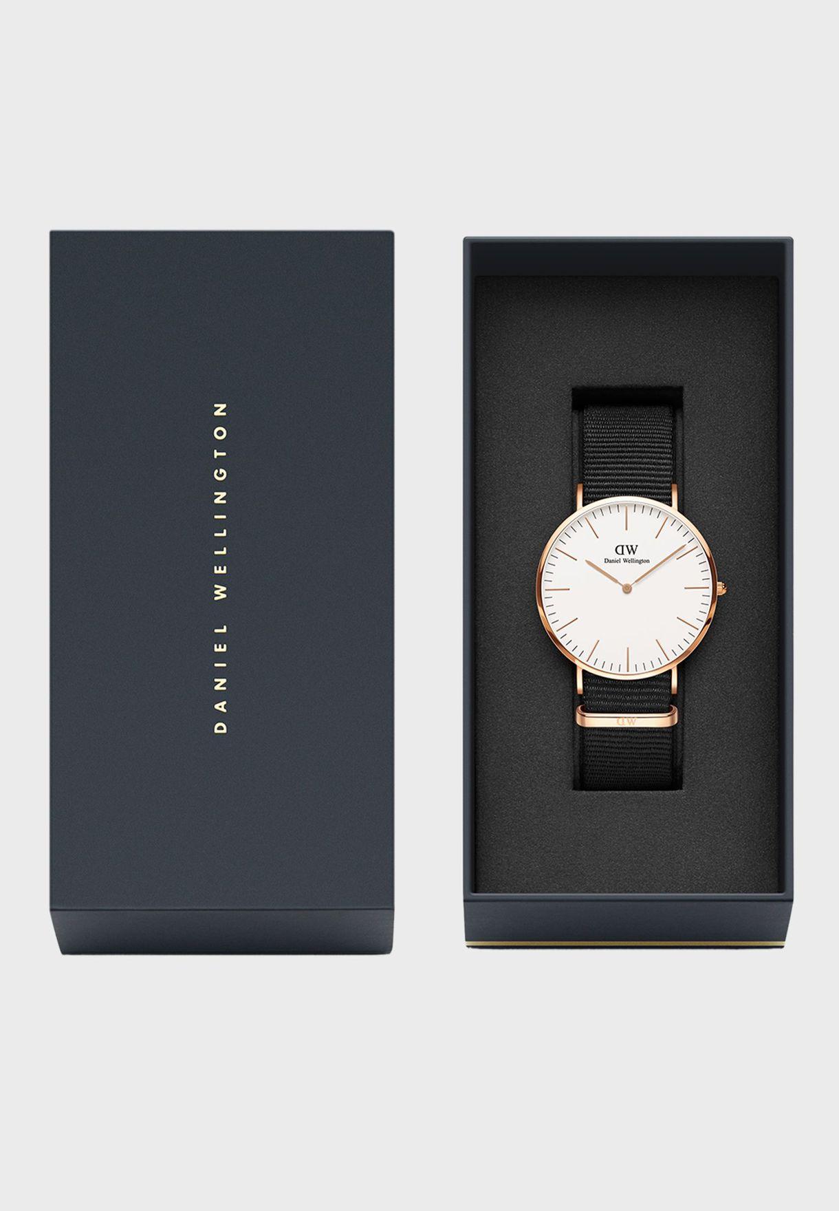 Petite Cornwall RG White 28mm Watch DW00100251