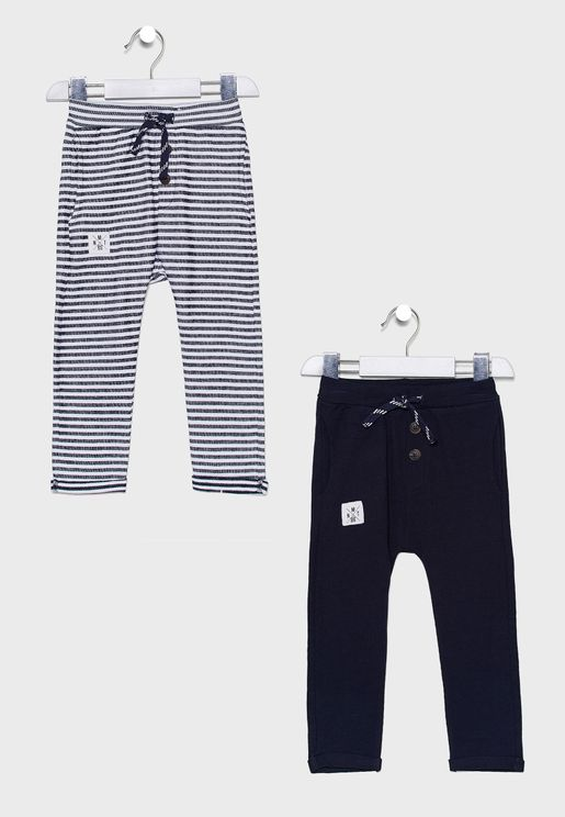 Kids 2 Pack Light Sweatpants