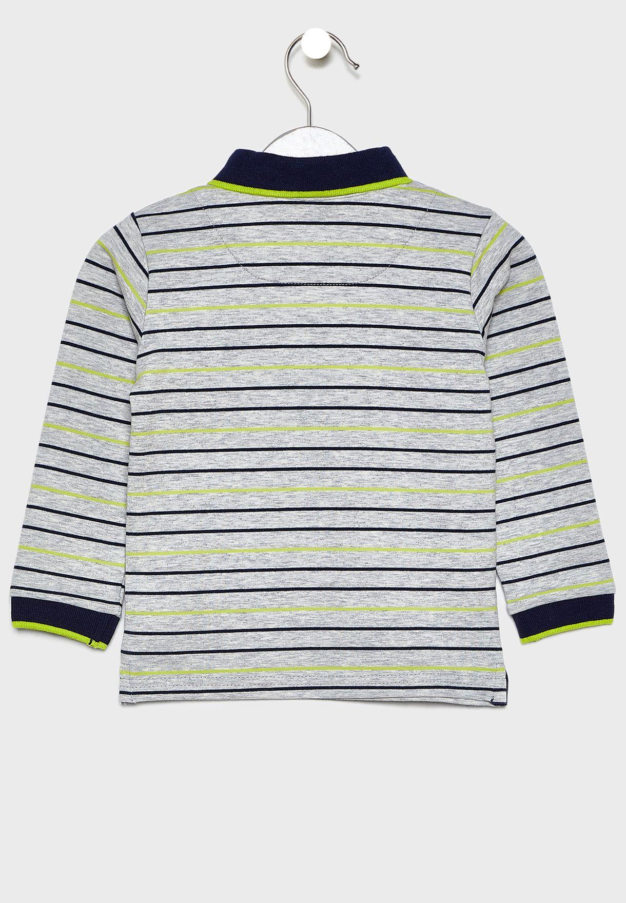Kids Striped T-Shirt + Jogg Jeans Set