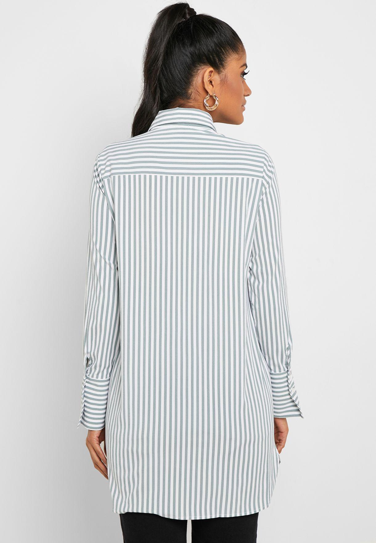 Striped Tunic Shirt
