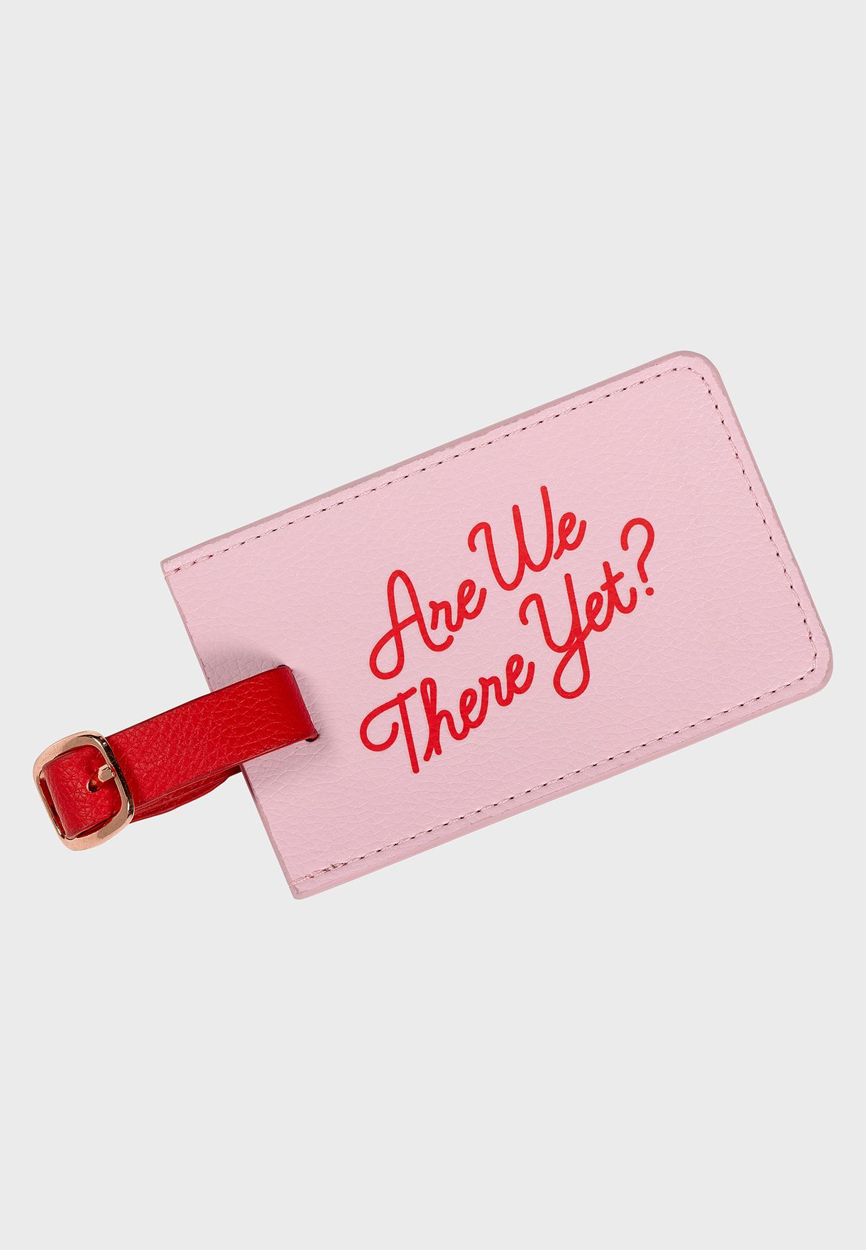 Luggage Tag - Are We There Yet?