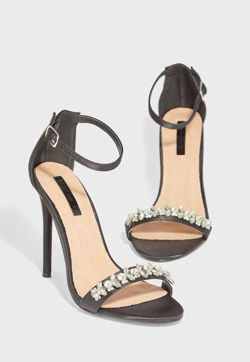 WIDE FIT Ankle Strap Sandal