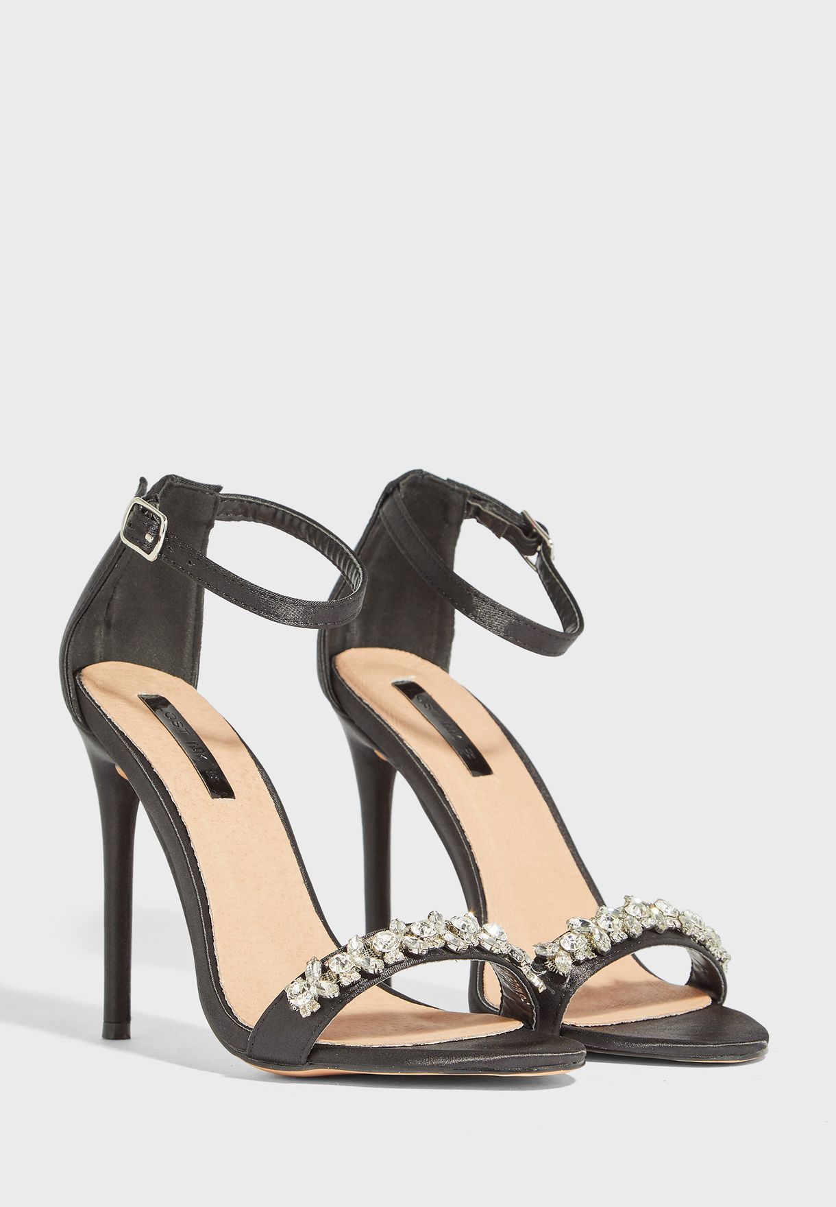 WIDE FIT Ankle Strap Sandal