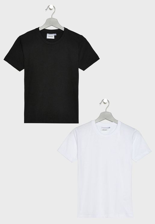 Kids 2 Pack Essential T-Shirt