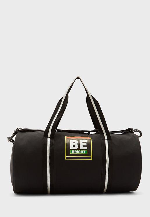 Wide Strap Duffel Bag
