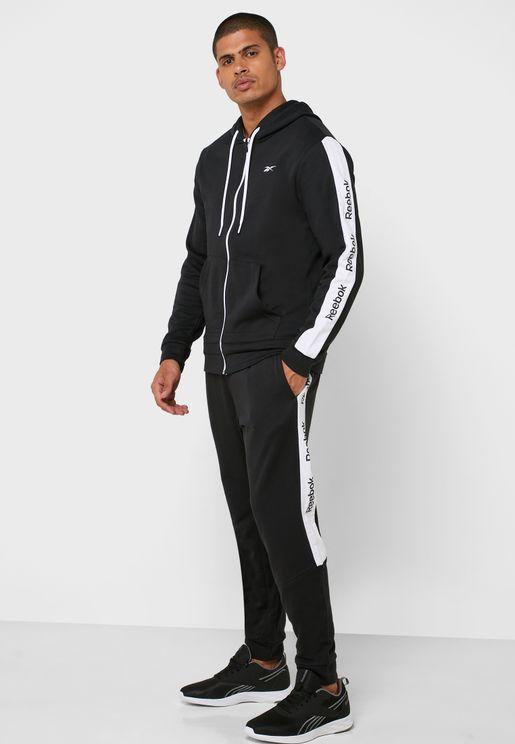 Training Essential Linear Logo Tracksuit